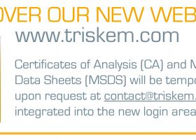 Certificates of Analysis (CA) and Material Safety Data Sheets (MSDS)