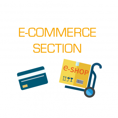 Section de e-commerce
